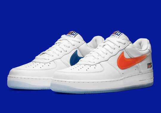 """KITH x Nike Air Force 1 """"NYC"""" Releasing In Alternate White Colorway"""