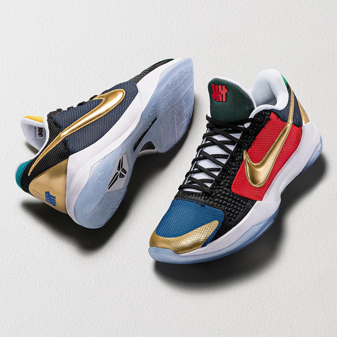 UNDEFEATED Nike Kobe 5 Protro Release