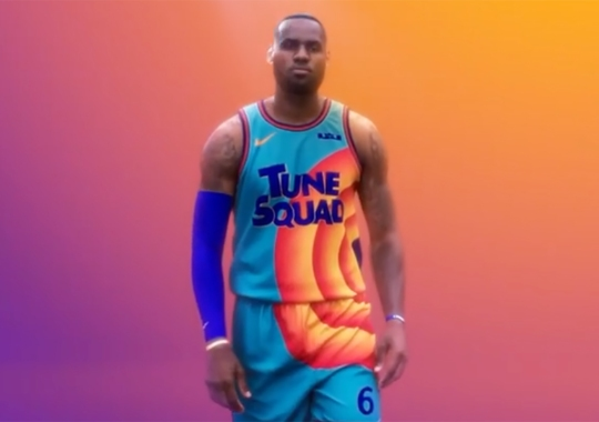LeBron James Teases First Look At Tune Squad Jerseys For Space Jam: A New Legacy