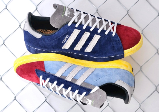 mita Taps RECOUTURE For Another Reconstructed adidas Campus 80