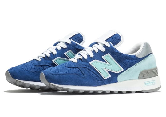 "The New Balance 1300 ""Made In USA"" Arrives With Contrasting Shades Of Blue"