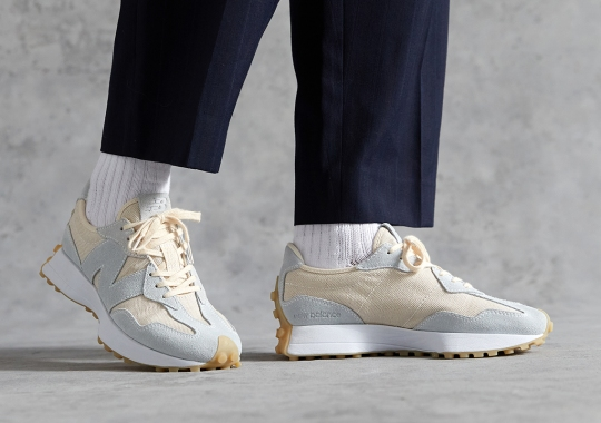 The New Balance 327 Undyed, Which Champions Sustainability, Arrives August 8th