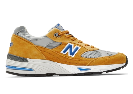 The Made In UK New Balance 991 Just Dropped With Yellow Curry Uppers