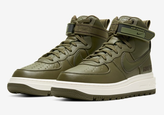 Nike To Unleash An Air Force 1 High Gore-Tex Boot This Fall