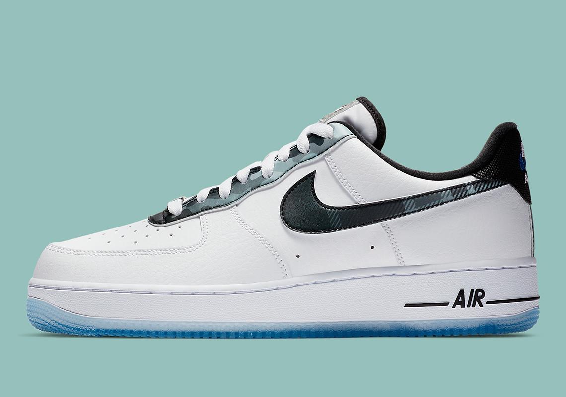 Nike Air Force 1 Remix Pack Plaid DB1997-100 | SneakerNews.com