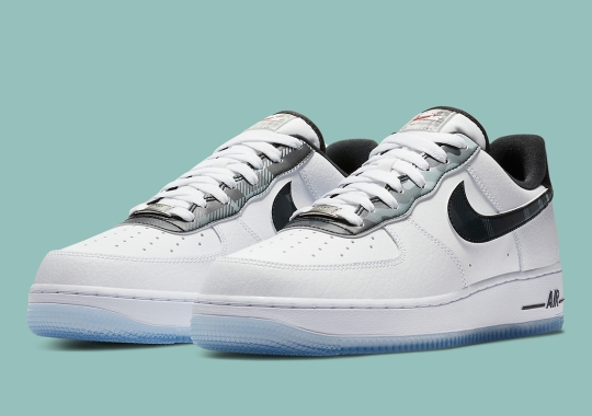 "Official Images Of The Nike Air Force 1 Low ""Remix Pack"" In Plaid"