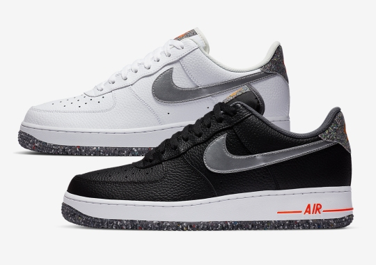 "Nike Continues ""Move To Zero"" Initiative With Air Force 1 ""Regrind"" Duo"
