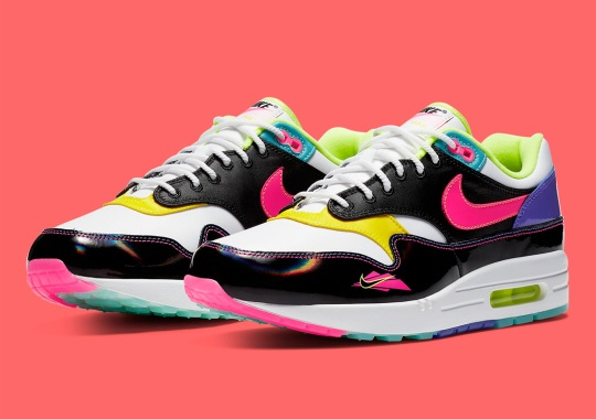 The Nike Air Max 1 Beats The Heat With 90s Water Sports Theme