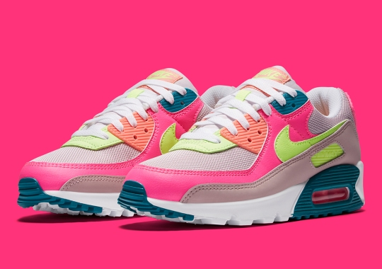 The Nike Air Max 90 Appears With An Assortment Of Summer-Friendly Neons