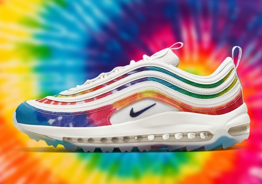 "Nike Releases An Air Max 97 Golf ""Tie Dye"" Ahead Of PGA Championship"
