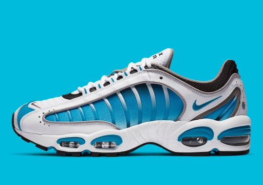 "The Nike Air Max Tailwind IV Is Releasing Soon In A ""Laser Blue"" Colorway"
