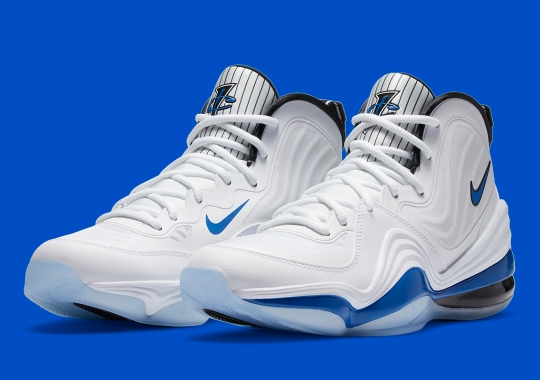The Nike Air Penny 5 Gets Dressed In Orlando Magic Home Colors