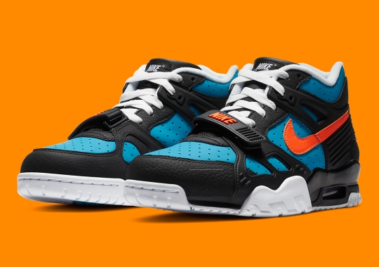 The Nike Air Trainer 3 Is Arriving Soon In Laser Blue And Laser Orange
