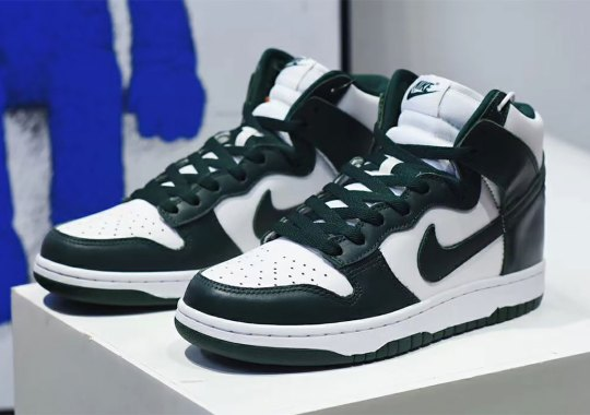 First Look At The Nike Dunk High SP In Green