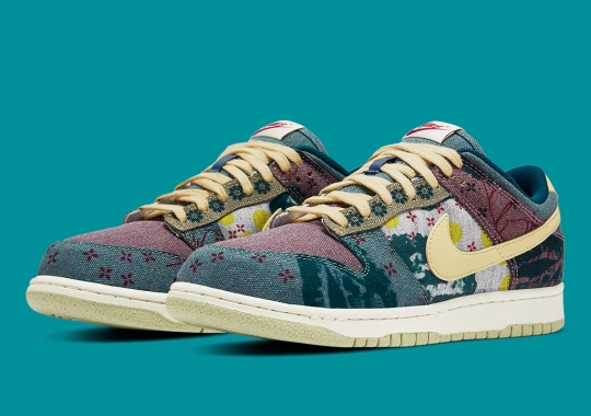 """Official Images Of The Nike Dunk Low SP """"Community Garden"""""""