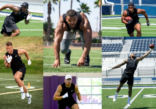 Nike Football's 11-Online Lets You Train With Saquon Barkley, Christian McCaffrey, And Other NFL Stars