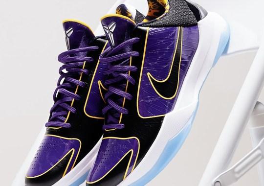 "The Nike Kobe 5 Protro ""5x Champ"" Releases Tomorrow"