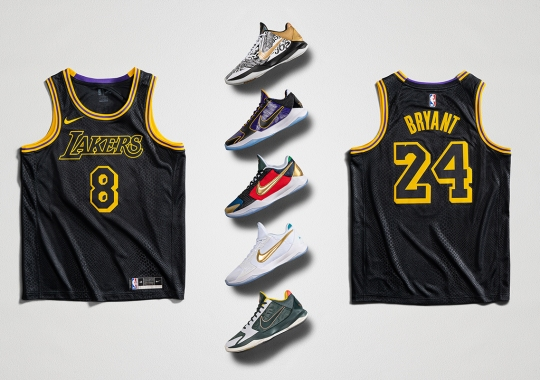 "Nike To Celebrate The Legacy Of Kobe Bryant During ""Mamba Week"""