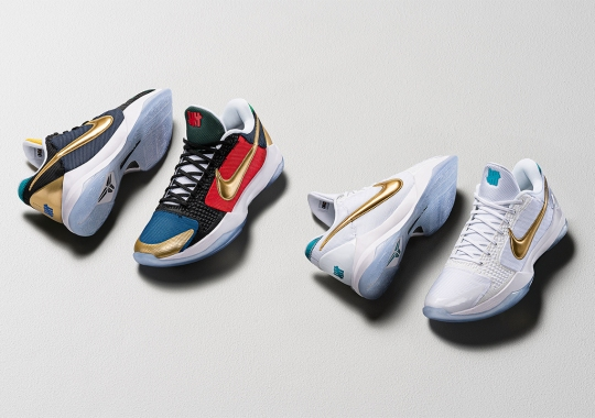 UNDEFEATED x Nike Kobe 5 Protro Pack Releases on August 27th