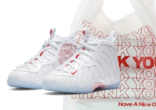 This Nike Lil Posite One Is Inspired By Takeout Bags
