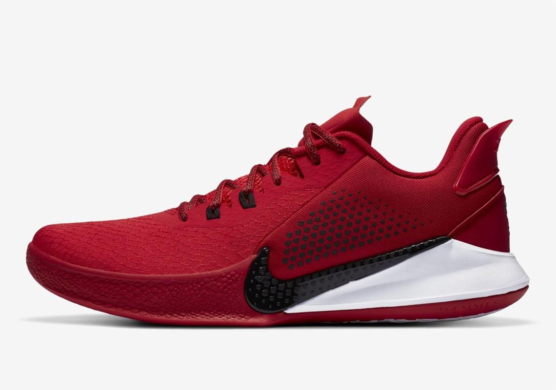 kobe bryant shoes red