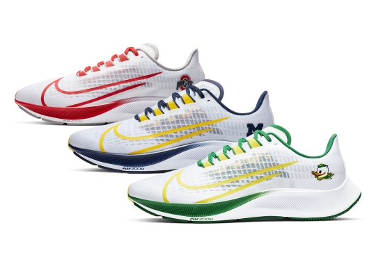 The Nike Zoom Pegasus 37 NCAA Pack Is Available Now