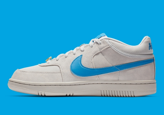 "The Nike Sky Force 3/4 ""Grey Fog"" Is Inspired By Coney Island's Hoops Proving Grounds"