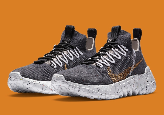 The Nike Space Hippie 01 Emerges In Black And Wheat