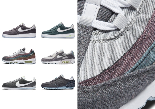 Nike Sportswear Unveils The Recycled Canvas Pack