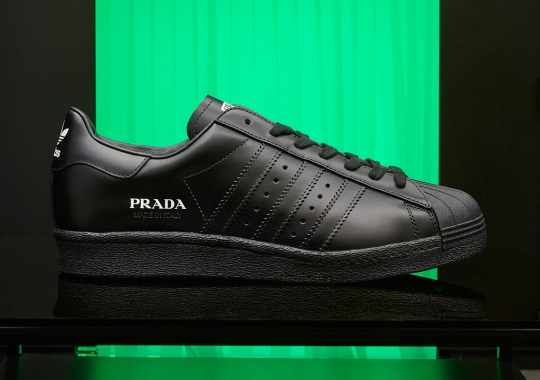 Prada And adidas To Release Another Round Of Luxury Superstars
