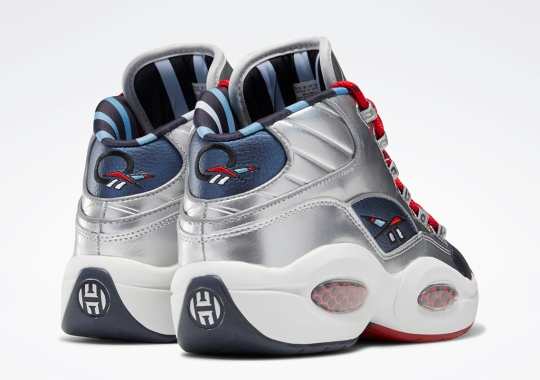 "The Reebok Question Mid ""OG Meets OG"" Appears In Alternate Silver Colorway"