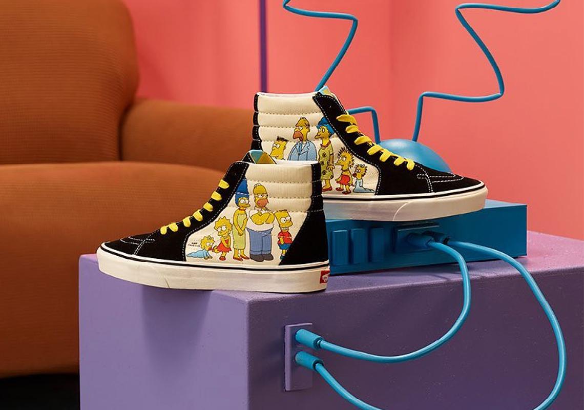 The Simpsons x Vans Footwear Release Info | SneakerNews.com