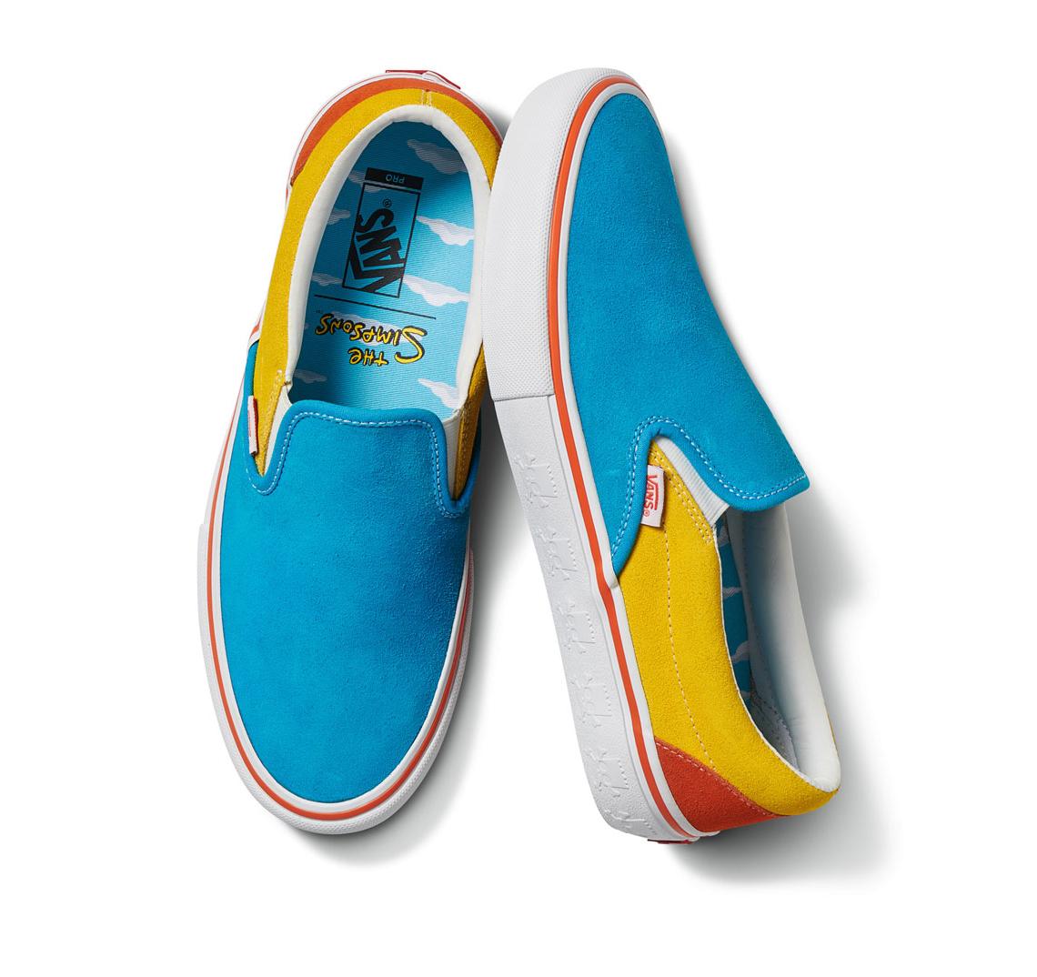 The Simpsons x Vans Launch