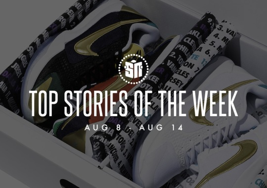 Thirteen Can't Miss Sneaker News Headlines from August 8th to August 14th