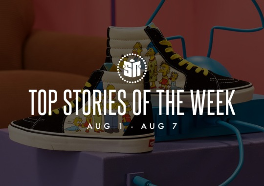 Eleven Can't Miss Sneaker News Headlines from August 1st to August 7th