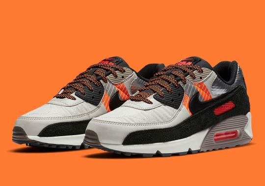 Nike Continues Their 3M Collaboration With A Hi-Vis Air Max 90