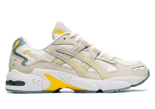 Lemon And Teal Accents Land On This Latest ASICS GEL-Kayano 5 OG