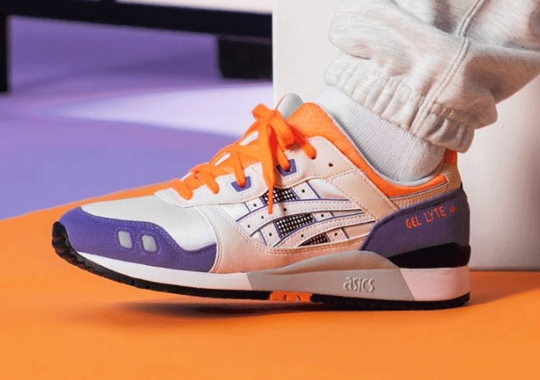 The ASICS GEL-Lyte III OG In Orange And Purple Arrives On October 6th