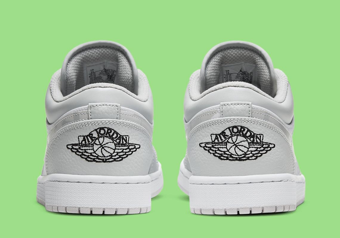 Air Jordan 1 Low Grey Camo DC9036-100 Release | SneakerNews.com