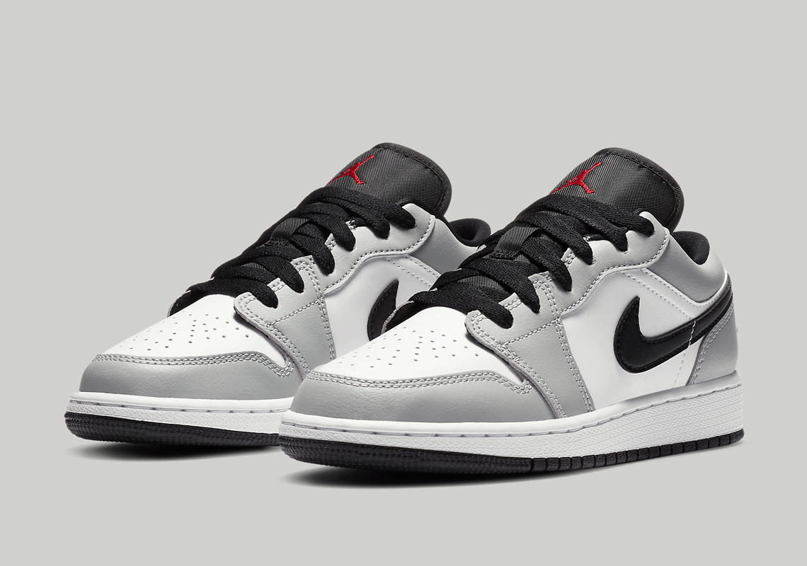 Air Jordan 1 Low Light Smoke Grey 553558 030 Sneakernews Com