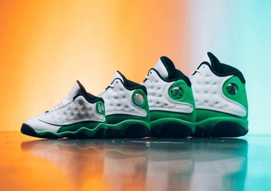 "Where To Buy The Air Jordan 13 ""Lucky Green"""