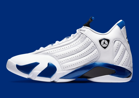 "Official Images Of The Air Jordan 14 ""Hyper Royal"""