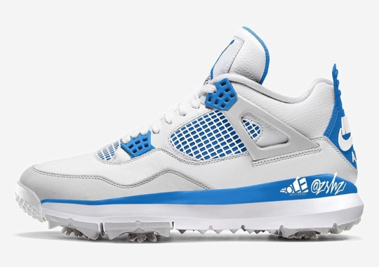 "The Air Jordan 4 Golf ""Military Blue"" Expected August 2021"