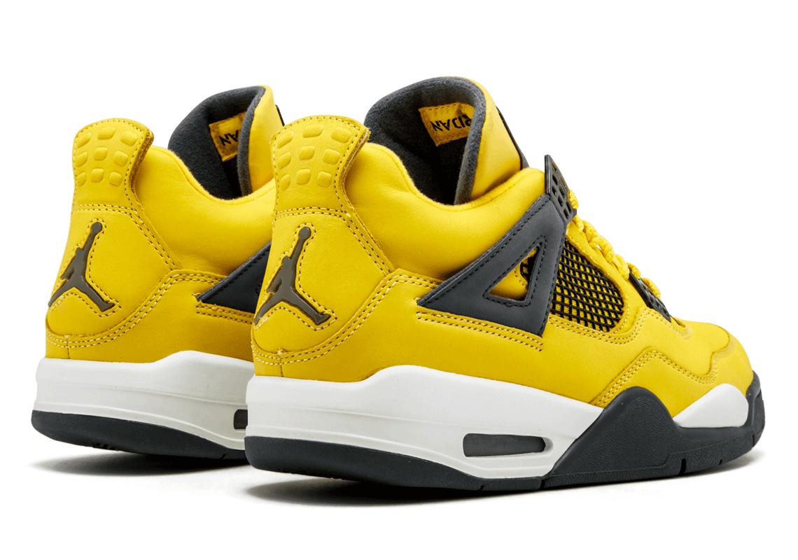 all yellow jordan 4