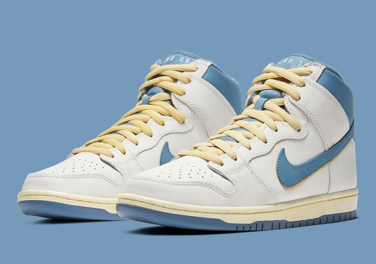 """Official Images Of The Atlas x Nike SB Dunk High """"Lost At Sea"""""""