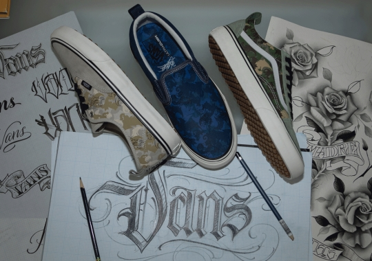 "Vans Taps American Tattoo Legend BJ Betts For ""Made For The Makers"" Capsule"