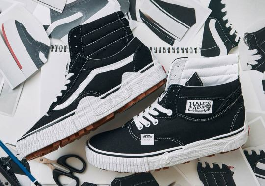 "The Vans ""Cut And Paste"" Pack Welds Multiple Models For Two Hybrid Shoes"