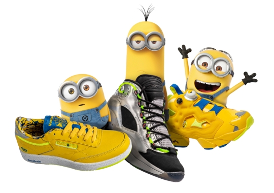 "Reebok And Illumination Officially Unveil ""Minions: The Rise of Gru"" Collection"
