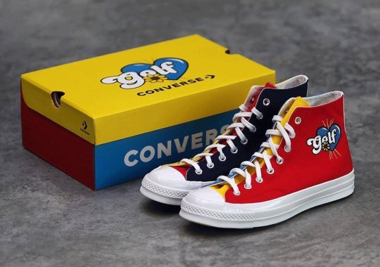 Golf Wang To Release A Tri-Panel Converse Chuck 70 On September 14th