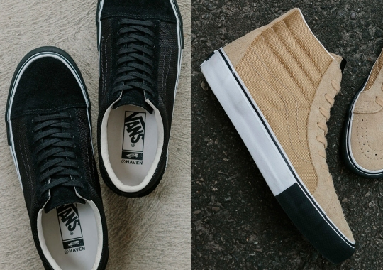 HAVEN And Vans Vault Outfit The Sk8-Hi And Old Skool With Ballistic Nylon